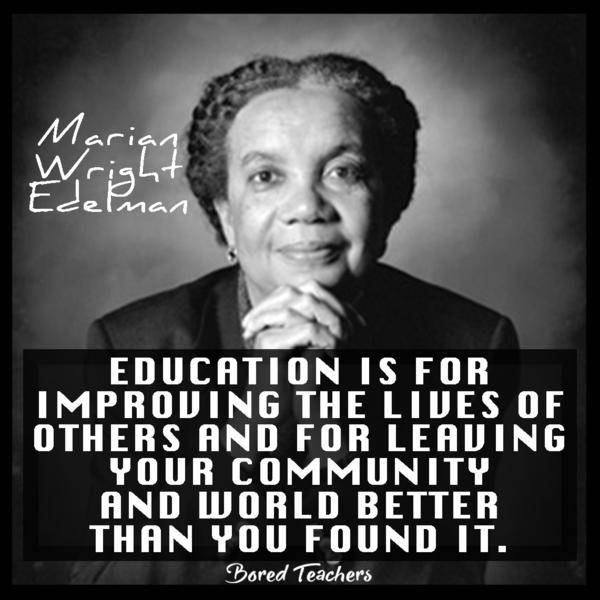 Black History Month Day 22 – Marian Wright Edelman ...